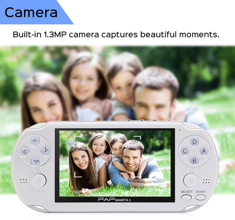 HTB1hCsucrsTMeJjSsziq6AdwXXaV - 4.3'' Video Game Console 64Bit Handheld Game Console Built-in 1300/650 games for GBA/CPS/NEOGEO/SNES/SMD/FC/GBC/SMS/GG mp5