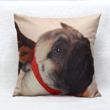 hot selling 45cm*45cm Vintage cute dog pattern Bed Home Festival linen blend Pillow Case chelsea jersey Jul18 Extraordinary