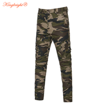 King Bright 2017 New Famous Brand Men Clothing Camouflage Cargo Trouser Male Casual Man Pantalon Homme Military Pants Hot Sale