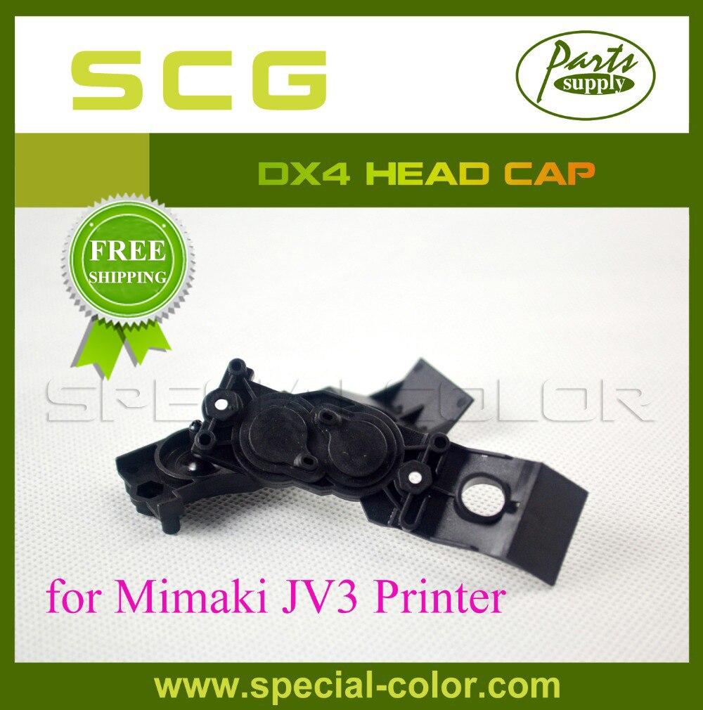 2pcs/lot Solvent DX4 Printer Mimaki Head Cap for JV3<br><br>Aliexpress