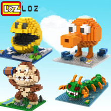 LOZ Pixels Figure Building Blocks toys action figure Children Intelligence Models Building Christmas Quiz Toys For Children(China)