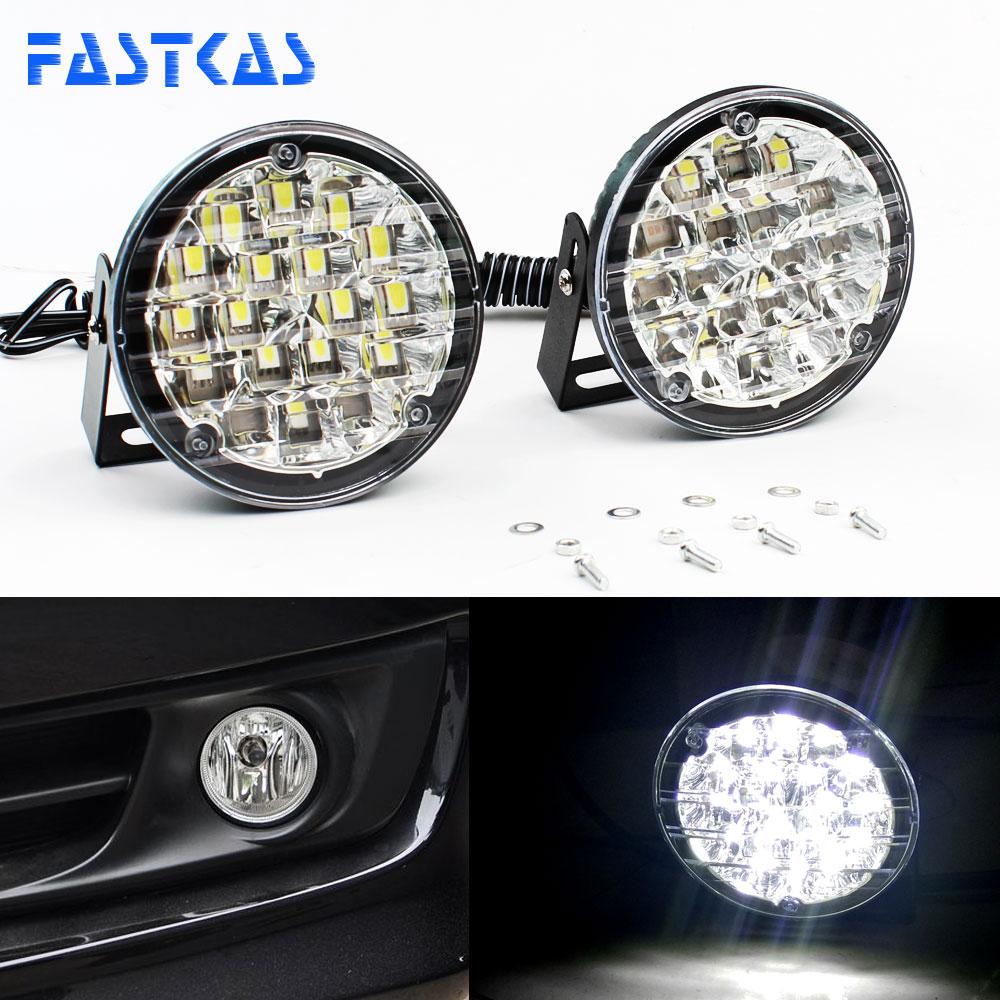 5 LED X-Treme High Power 15cm DRL Lights Lamps Auto Switc Fits Mercedes Models