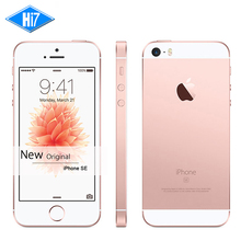 "New Original Apple iPhone SE Unlocked 4G LTE Mobile Phone 2GB RAM 32GB ROM 4.0"" Chip A9 iOS 9.3 Dual core Fingerprint iphonese"