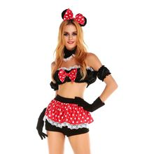 Minnie mouse costume disfraces adultos halloween costumes sexy halloween costume for women cosplay joker costume carnaval