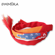 Hot Sale Your Name Bracelets Jewelry Lovers Hot Japan Amine Movie Red Cloth Silicone Wrap Bracelets Pulseras For Men Women(China)