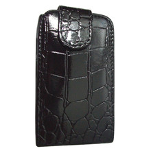 Luxury Crocodile Flip Leather Case Cover For BlackBerry Bold 9700 BB9700 Free Shipping(China)