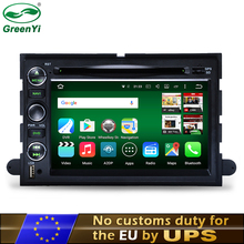 GreenYi 2 Din Android 6.0 or 7.1 Car DVD GPS For Ford Explorer Fusion Expedition F150 F250 F500 Edge Mustang Tablet PC Radio(China)