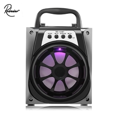 Redmaine Best Promotion Black MS-133BT Portable High Power Output 95dB 3.5mm Audio Interface FM Radio Wireles Bluetooth Speaker