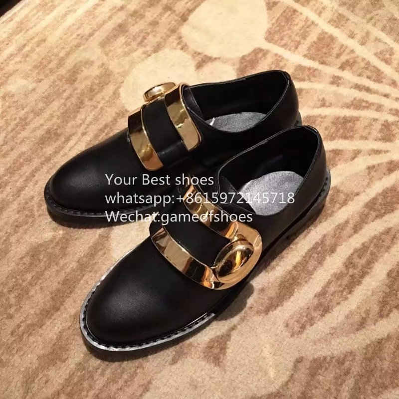2016 Turnlock monk strap leather shoes black leather shoes genuine leather shoes round toe slip on womens  monk strap shoes<br><br>Aliexpress