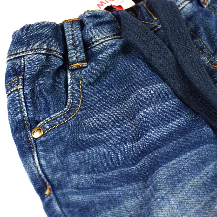 HSIN1609001-4Infant Baby Boys&Girls Jeans Newborn Kids Warm Denim Harem Pants New Born Bebe Pantalones Toddler Crawling Soft Leggings Winter