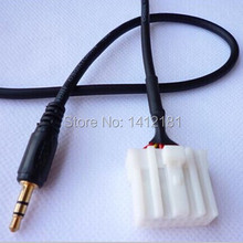 AUX cable RX8 MX5 Pentium B70 MP3/4 CD MEDIA Player Audio Adapter AUX line Input 3.5MM For Mazda2 3,5 6 M3 M6 iphone iPod