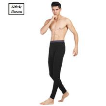 Buy Hot Winter Men Long Johns Cotton Thermal Underwear Men Warm Long Johns Leggings Pants High 4 colour male 2017 new for $10.07 in AliExpress store