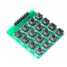 MCU Extension 4 x 4 16-Key Matrix Keyboard Module   4*4 matrix keyboard