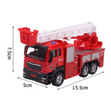 2017 New Hot Sale Toy Vehicles Car For Kids Boy High Quality Red Fire Truck Toys Car Children Play Game Cars Jouet Enfant(China)