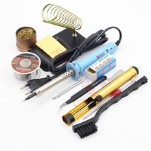 BEST 60w Soldering Tool Kit Electric  Solder iron Desoldering pump Solder Wick Iron stand rosin Suction tin Iron Tsui