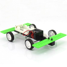 10Pcs High-speed Two-wheel Drive Car Set Production Experiment Kit Diecast Toy Vehicles(China)
