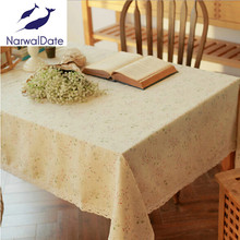 Fashion korean cotton lace table cloth tablecloths wholesale a generation of fat cover table cloth towel home(China)