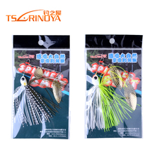 Trulinoya Brand 7g 10g Spinner Bait Metal Spoon Fishing Lure for Bass Fishing SpinnerBait Jig Jigging lure Swimbait 2pcs/lot