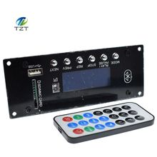 4.0 Bluetooth MP3 Decoding Board Module w/ SD Card Slot / USB / FM / Alarm APE FLAC WAV WMA Decoder Board KIT Digital LED SD/MMC
