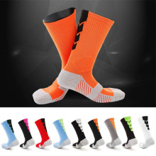 2017 top quality football socks soccer socks mens kids boys sports durable long adult basketball thickening sox medias de futbol