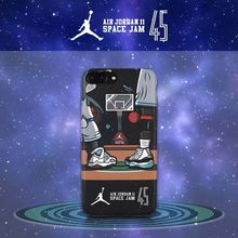 For iPhone 7 6s Coque 2017 Limited Edition Jordan Shoes Air Jordan 11 Phone Back Shell For iPhone 7 Plus 6 Plus Para Capinha