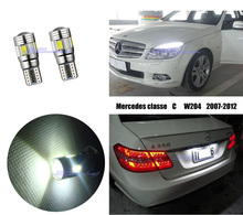Deecholl Car LED Light bulbs Mercedes C-Class W204 2007-2012,Canbus White Parking Clearance License Plate Lights - JB International Trade Co., Ltd. store