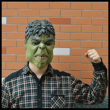 Free shipping Hot New Halloween Party Cosplay Movie mask for decoration show The incredible hulk hulk mask latex face head mask