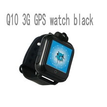 Hot Q10 GPS Tracking Watch 3G For Kids SOS Emergency WCDMA Camera GPS LBS WIFI Location Smart Wristwatch Q730 touch screen(China)