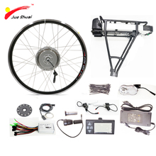 36V 500W Electric Bike Conversion Kit with Battery Brushless Hub Wheel Motor for Bicycle Bike Ebike kits bicicleta electrico