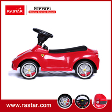 Rastar Licensed Ferrari 458 speciale A foot to floor car with leather seat and horn sound ride on car toy for children 83500