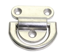 Marine Boat Yacht 316 Stainless Steel Deck Hinge Without Holes 76x38mm 3*1.5 Inch(China)