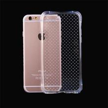 5 5S SE New Shockproof Case Soft TPU Rubber Gel Back Cover Clear Crystal Protective Cellphone Fundas for iphone 5 5S 6 6S 6PLUS(China)