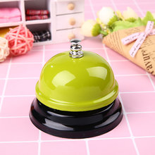 6 Colors Desk Restaurant Hotel Bar Counter Bell Dishes Diverse Styles Small(China)