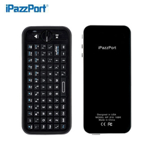 Hot Selling MiNi bluetooth keyboard remote control Wireless Air Mouse Keyboard Combo Perfectly Compatible for apple TV laptop
