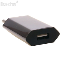 Black AC Wall USB Power  AU Plug Converter Adapter Charger For Apple 6 6plus 5 5s 4 4G 4S 3G 3Gs iTouch iPod free shipping