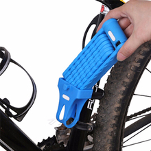 New High Quality Bicycle Bike Foldable Link Plate Lock With Keys Security Anti-Theft Lock For Cycling Racing