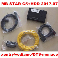 MB STAR C5 with 2017.07 full Software  XENTRY/DAS/EPC/WIS/starfinder/EWA/VEDIAMO/DTS-Monaco 320GB HDD AND SD Connect C5