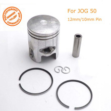 Piston Rings Kit 40mm with 12mm/10mm Pin For JOG 50 2 Stroke Scooter 1PE40QMB Yamaha Minarelli 50cc Moped Parts(China)