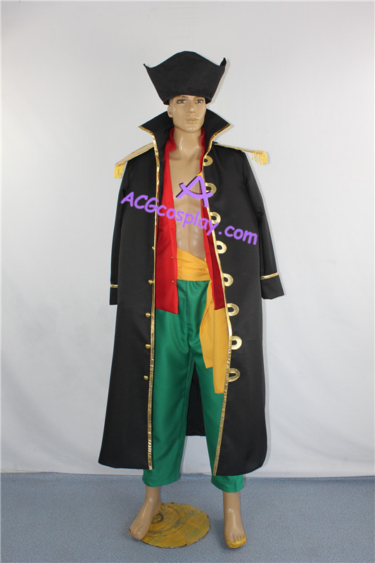 One Piece Blackbeard Cosplay Costume Marshall cosplay costume include hat