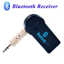 Viecar 3.5mm Bluetooth v3.0 with EDR wireless bluetooth car kit adapter aux audio adapter fc of car buyers free shipping(China)