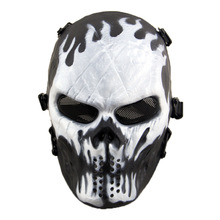 Ghost Fire Airsoft Paintball Skull Full Face Protection Mask for Outdoor Wargame Tactical Gear CS War(China)
