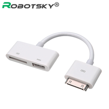 30-Pin Digital 1080P AV HDMI Digital HDTV Adapter For iPad 2 3 iPhone 4 4S iPod 30Pin Dock Charger Port