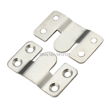 free shipping Lstyle wall bracket Furniture fitting bed corner hanger buckle sheet mirror frame hook DIY picture hardware part