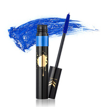 HUAMIANLI Colorful Shining Mascara Extension For Eyelashes Make-up Carcass Thick Quick Dry Eyeshadow Cosmetics 8 Colors