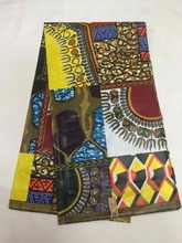 2017 New arrvial nigerian ankara african wax cotton fabric real wax print fabric textiles cheapest wholesale price