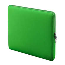 "Portable Laptop Bag Huelsen Pocket Soft Cover Smells for 15 ""15.6"" MacBook Air Pro Retina Ultra book Portable Notebook Green"