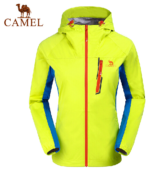 2015 Camel camel for outdoor Women off-road jacket outerwear water  hooded jacket<br><br>Aliexpress