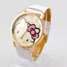 Free Shipping 100pcs/lot Fashion Lovely Hello Kitty Wrist Watch Fast Delivery Multi Colours Wholesale