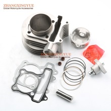 performance racing 63mm 200cc big bore kit for GY6 152QMI 157QMJ 125cc 150cc scooter ATV(China)