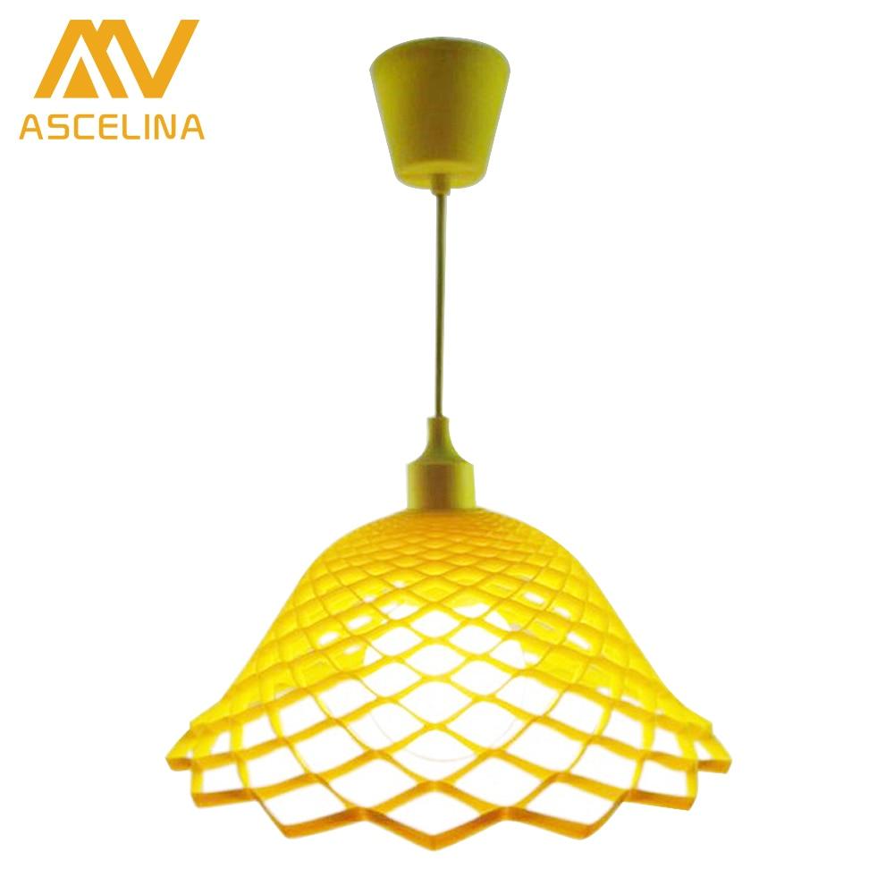 Modern pendant lamp colorful Silica Gel Pendant Lights E27 110V 220V hanging light for dining room/living room/home decoration<br>